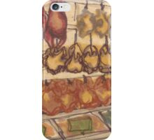 hanging meat iPhone Case/Skin
