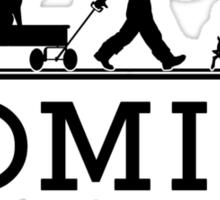 HOMIES - Hamptons - Hermes Parody  Sticker
