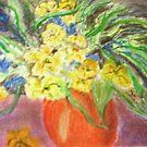 Flower vase by GEORGE SANDERSON