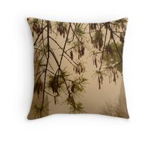 eerie afternoon  Throw Pillow