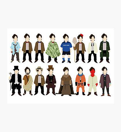 The Doctor's Wardrobe - Eleven Photographic Print