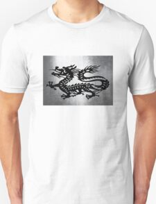 Vintage Metal Dragon Unisex T-Shirt