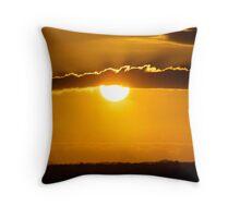 """""""Sunset over Bowen"""" Throw Pillow"""