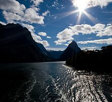 Milford Sound by Jeanne Frasse