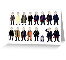 The Doctor's Wardrobe - Twelve Greeting Card