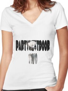 PartyNextDoor Two Women's Fitted V-Neck T-Shirt