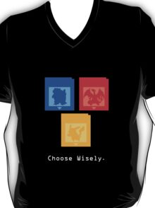 Pokemon Gameboy - Choose Wisely  T-Shirt
