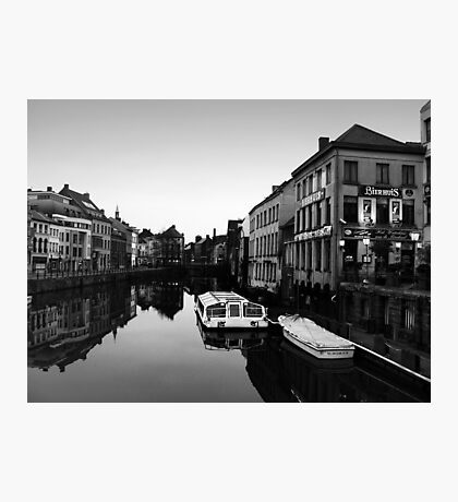 Beer Canals Photographic Print
