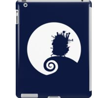 The Nightmare of the moving castle iPad Case/Skin