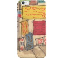 signs on the street iPhone Case/Skin