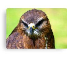 Fractual Falcon Canvas Print