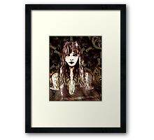 Lisa in Brown  (already saved) Framed Print