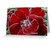 Fabulous Flower Greeting Card
