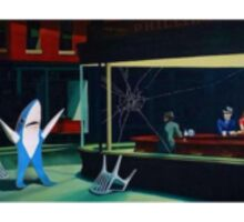 Superbowl Dancing Shark Katy Perry Sticker