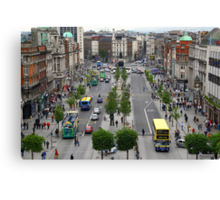 O' Connell Street. Canvas Print