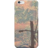 telephone wires and lamp iPhone Case/Skin