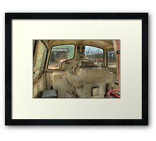 Inside William Framed Print