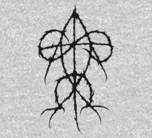 Aggressive Christianity - Black Logo T-Shirt