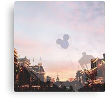 Disneyland's Main Street USA  Canvas Print