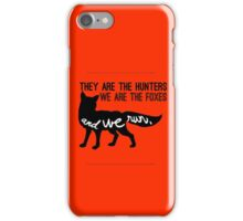 And we run. iPhone Case/Skin