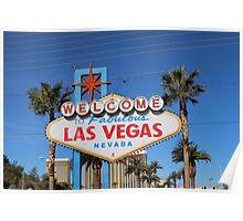 Vegas Sign Poster