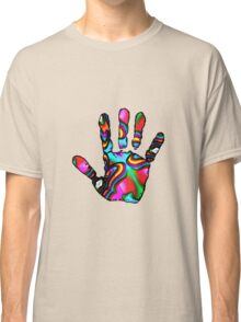 Psychedelic Hand Print 2 Classic T-Shirt