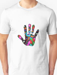 Psychedelic Hand Print 2 T-Shirt