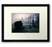 Magical Ring : Oxfordshire Framed Print