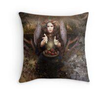 Mabon : Autumn Equinox Throw Pillow