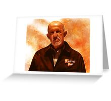 Breaking Bad - Mike Ehrmantraut Greeting Card