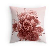 Rose coloured dreams Throw Pillow