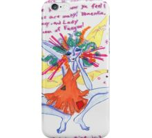 run ragged fairy iPhone Case/Skin