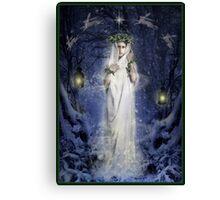 Yule Goddess Canvas Print