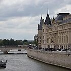view of Seine river, Paris by chord0