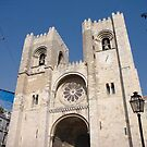 church of St Marie of Lisbon, Portugal by chord0