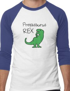 Pregasaurus Rex Men's Baseball ¾ T-Shirt