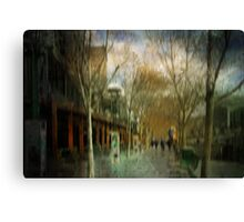 Sun shower..... Canvas Print