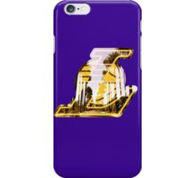 Lakers Silhouette  iPhone Case/Skin