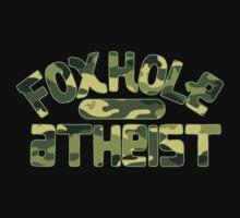 FoxHole Atheist Camo by Tai's Tees Kids Tee