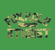 FoxHole Atheist Camo by Tai's Tees One Piece - Short Sleeve