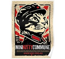 """MKC """"Big Fat Charity Cat Picture"""" Poster"""