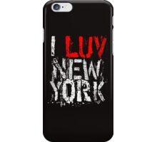 I LUV NY (remix) iPhone Case/Skin