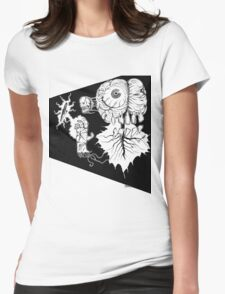 SPACE BRAIN! Womens Fitted T-Shirt