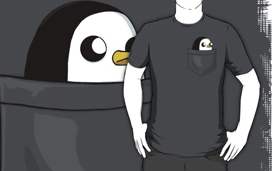 There's an evil penguin in my pocket! by tyna