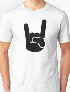 Rock Metal Hand Unisex T-Shirt