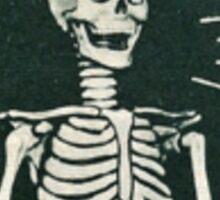 Join the Asylum skeleton Sticker