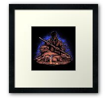 Wizard For Hire Framed Print