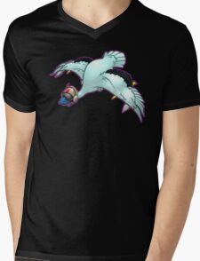 Jet Powered Goose! Mens V-Neck T-Shirt