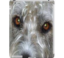 Irish Wolf Hound Face Close Up iPad Case/Skin