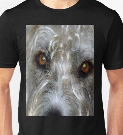 Irish Wolf Hound Face Close Up Unisex T-Shirt